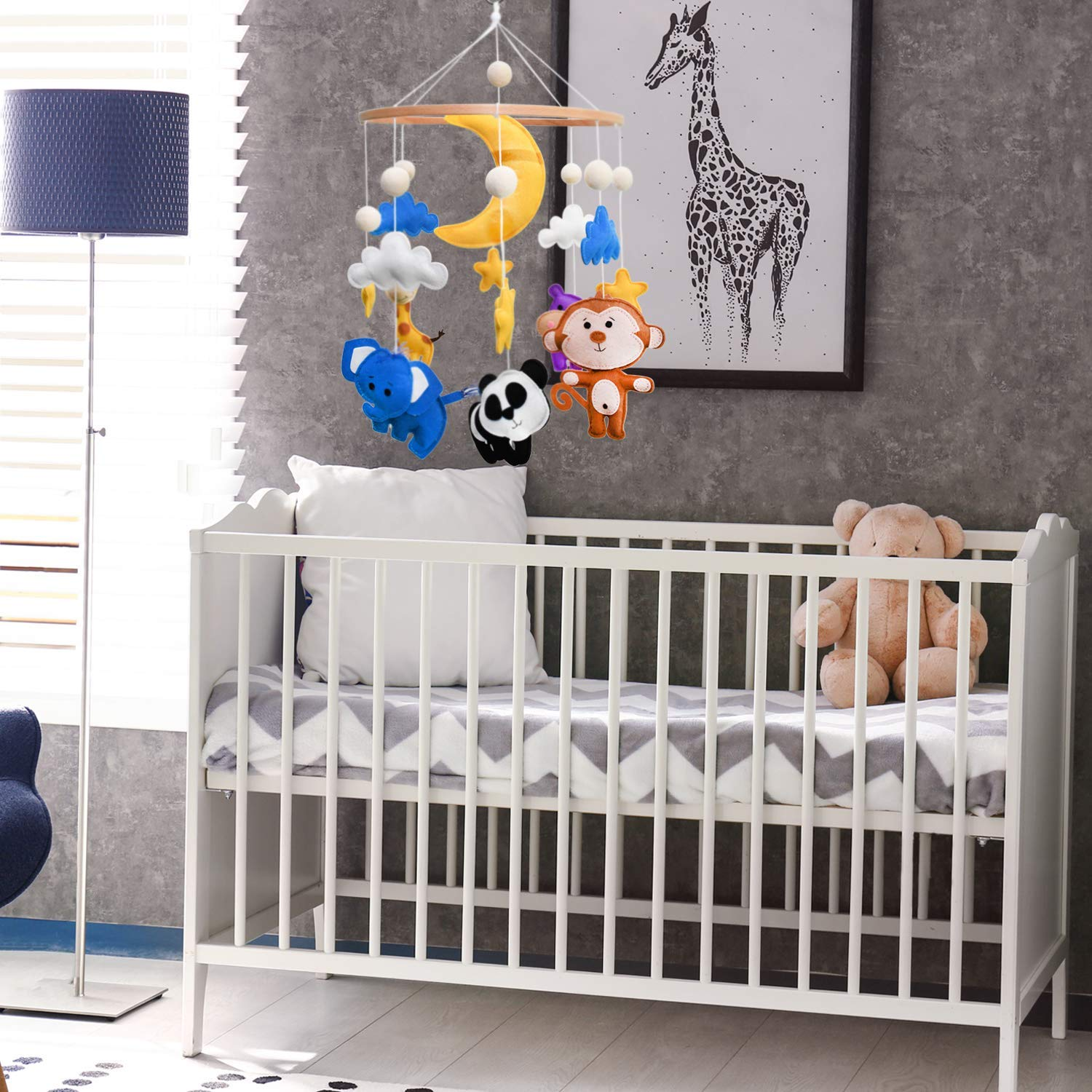 Thinks that hangs above a crib